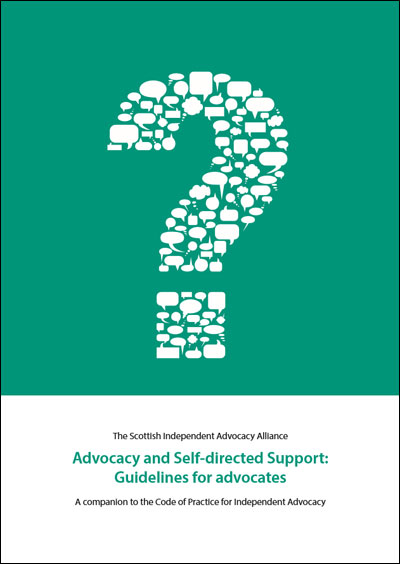 Advocacy and Self-directed Support Guidelines