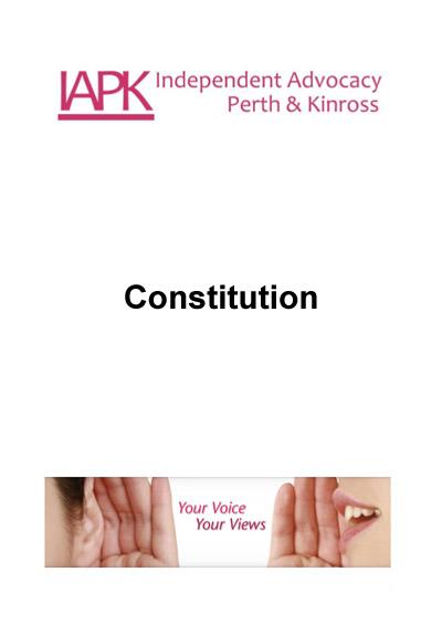 IAPK Constitution