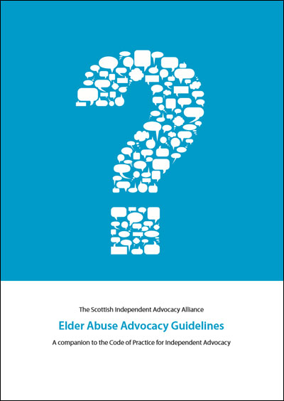 Elder Abuse Advocacy Guidelines