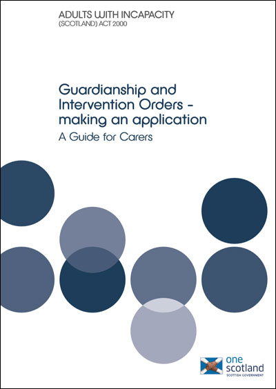 Guardianship and Intervention Orders