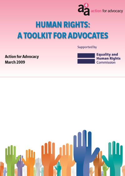 Human Rights - A Toolkit for Advocates