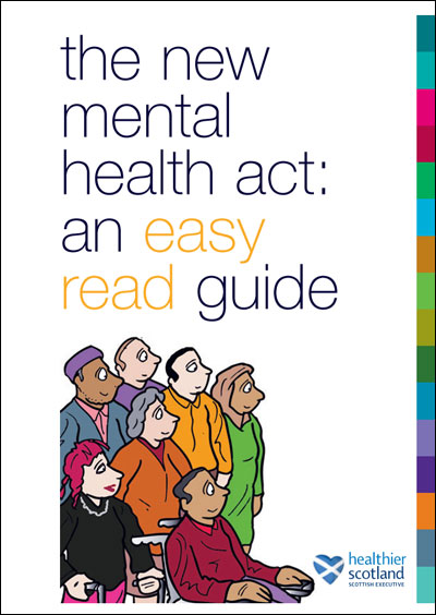 Mental Health Act - Easy Read Guide